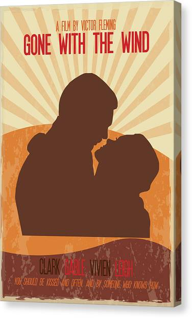 Gone With The Wind Canvas Print - Gone With The Wind Poster Print - You Should Be Kissed And Often And By Someone Who Knows How by Beautify My Walls