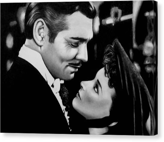 Gone With The Wind Canvas Print - Gone With The Wind by Rick Fortson
