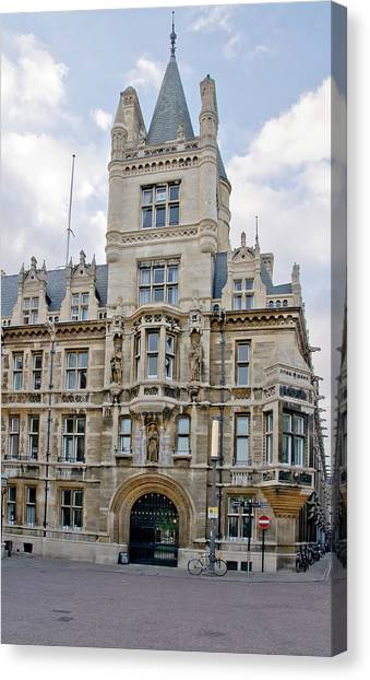 Gonville And Caius College. Cambridge. Canvas Print