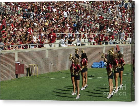 Good Cheer Canvas Print by Allen Simmons