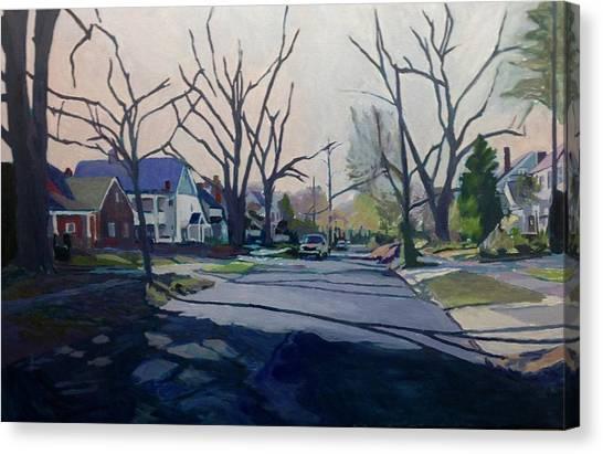 Canvas Print - Good Evening by David Buttram