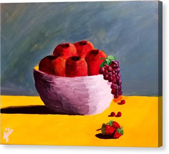 Good Fruit Canvas Print