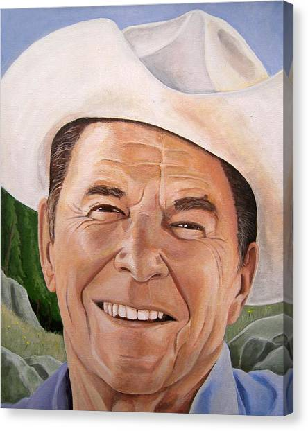 Good Guys Wear White Hats Canvas Print by Kenneth Kelsoe