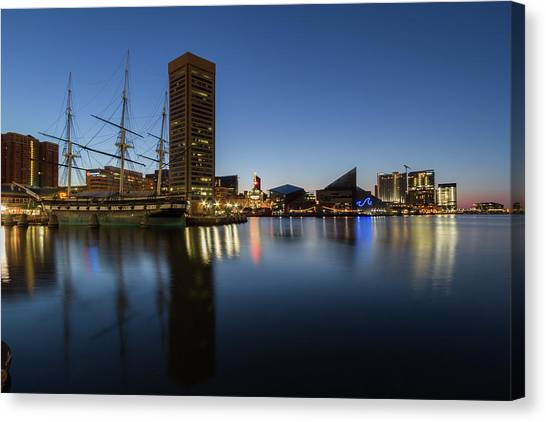 Good Morning Baltimore Canvas Print