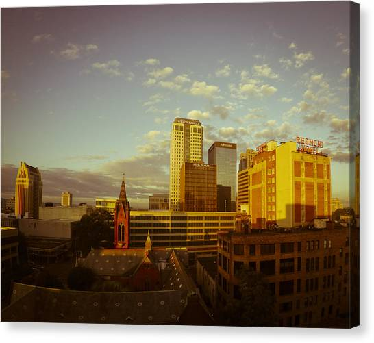 Good Morning Birmingham Canvas Print