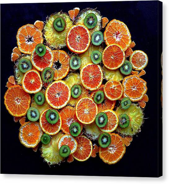 Good Morning Fruit Canvas Print
