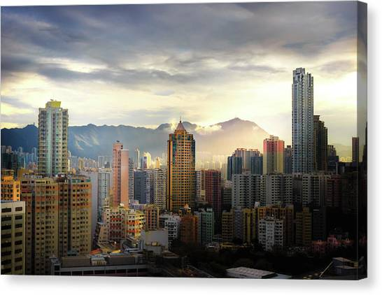Good Morning, Hong Kong Canvas Print