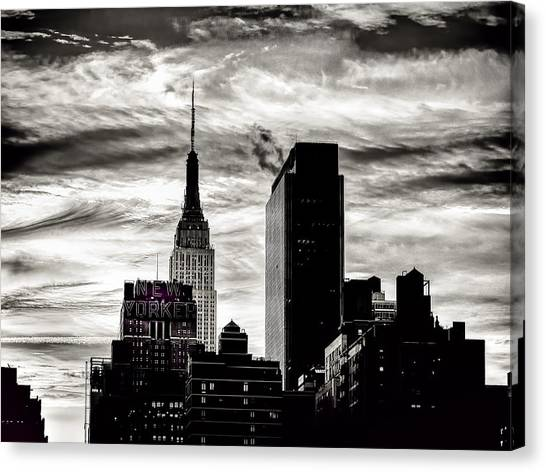 Good Morning Nyc Canvas Print