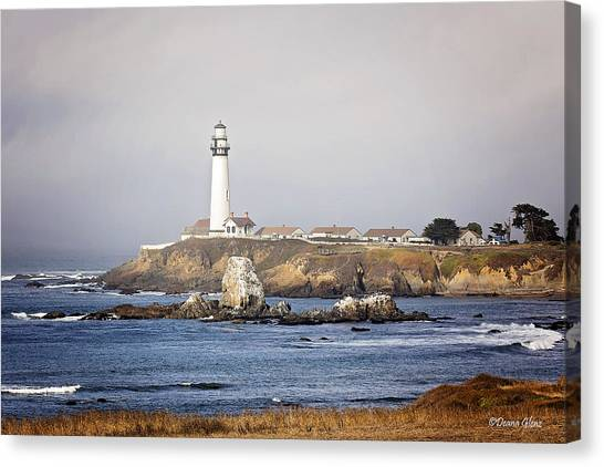 Good Morning Pigeon Point Canvas Print