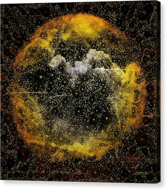 Fractal Canvas Print - Good Morning Starshine by Nick Heap