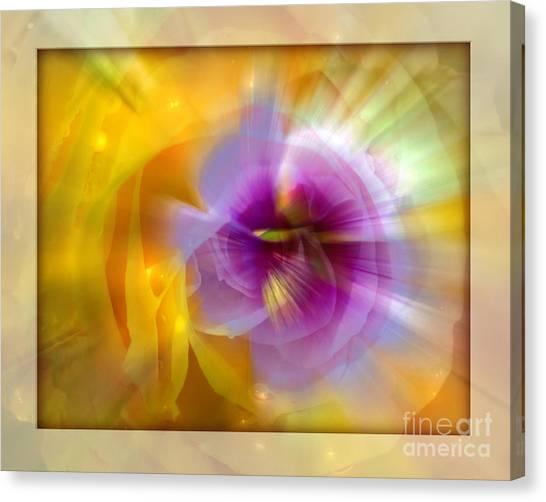 Good Morning Sunshine Canvas Print by Chuck Brittenham