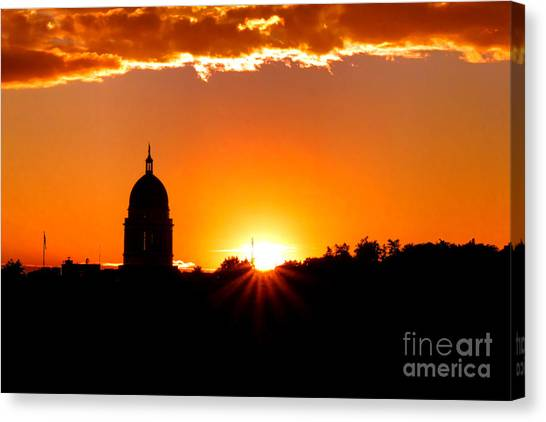 Augusta Canvas Print - Good Night Augusta by Olivier Le Queinec