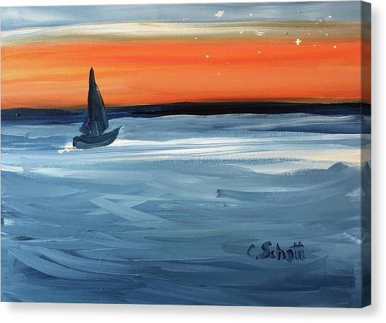 Good Night Star Light Canvas Print