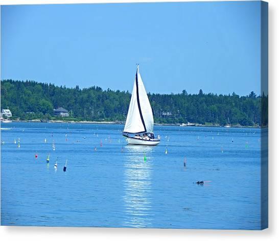 Good Sailing Canvas Print
