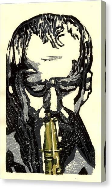 Good Sax Canvas Print