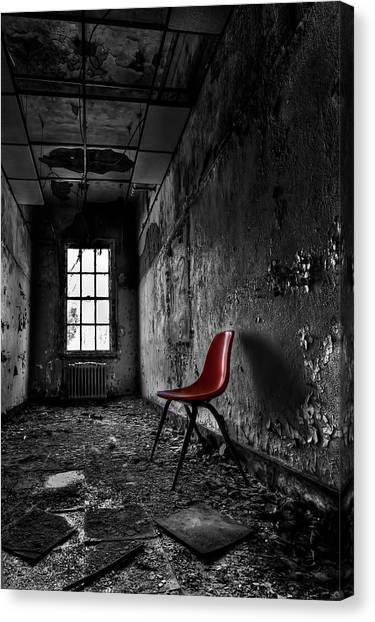 Derelict Canvas Print - Goodbye Inocence by Evelina Kremsdorf