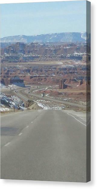 Goodbye Utah Canvas Print