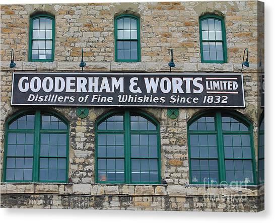 Gooderham And Worts Distillery Canvas Print