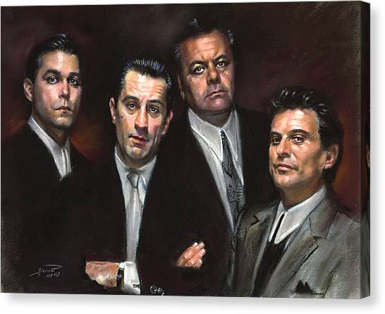 The Canvas Print - Goodfellas by Ylli Haruni
