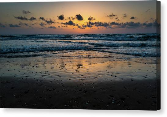 Goodnight Sea Canvas Print
