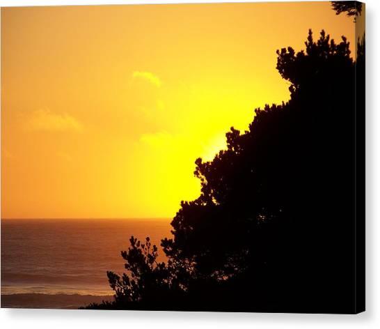 Goodnight Sun Canvas Print