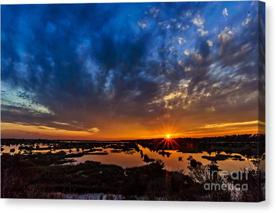 Goodnight Topsail Canvas Print