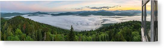 Goodnow Mountain Panorama Canvas Print
