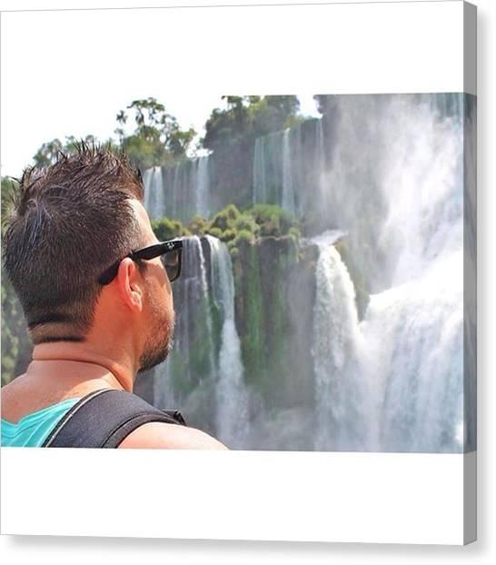 Iguazu Falls Canvas Print - Goood Moorning!! ☀️☕️ by Almir Vidjen