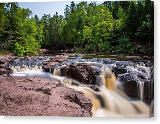 Goose Berry River Rapids Canvas Print