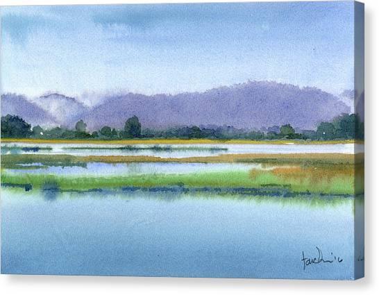 Goose Island Marsh Canvas Print