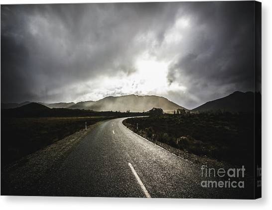 Distance Canvas Print - Gordon River Road by Jorgo Photography - Wall Art Gallery