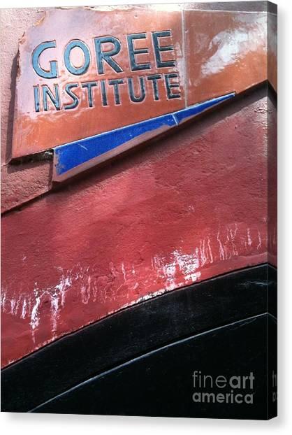 Goree Institute Canvas Print