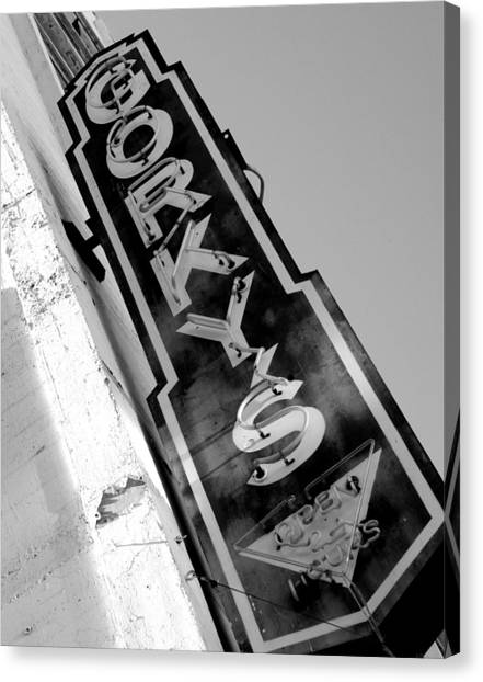 Gorky's Cafe Canvas Print