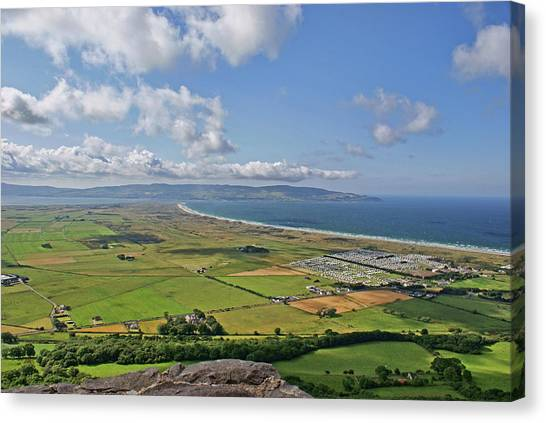 Gortmore Viewpoint, Northern Ireland. Canvas Print