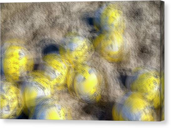 Volleyball Canvas Print - Got A Volleyball #3 by Joseph S Giacalone