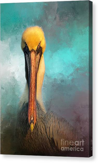 Florida Wildlife Canvas Print - Got Fish by Marvin Spates
