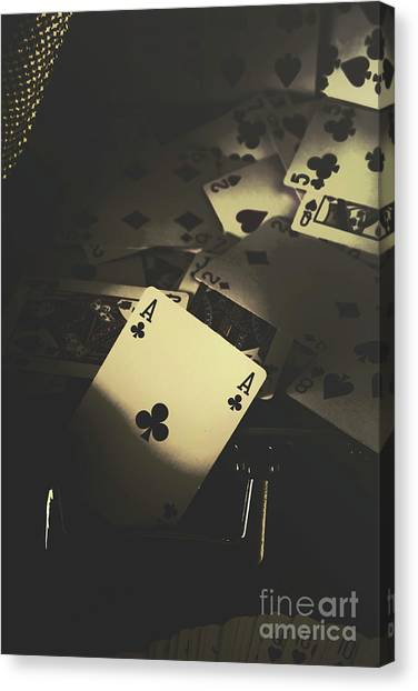 Wager Canvas Print - Got Game by Jorgo Photography - Wall Art Gallery