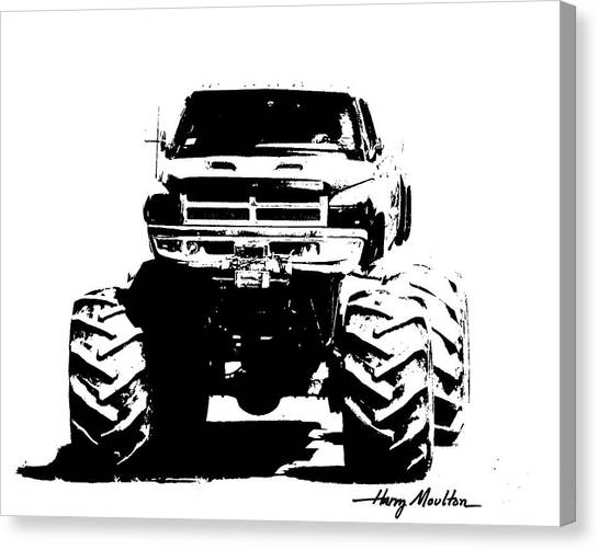 Got Mud? Canvas Print