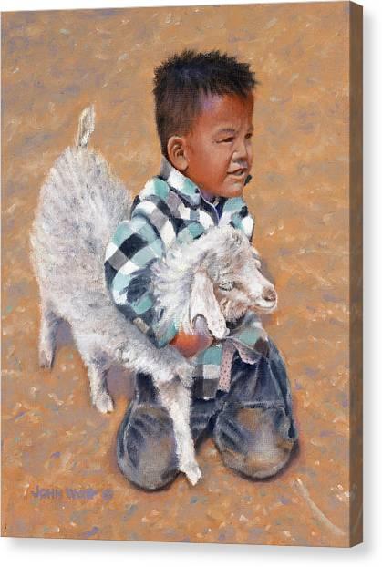 Gotcha Canvas Print by John Watt