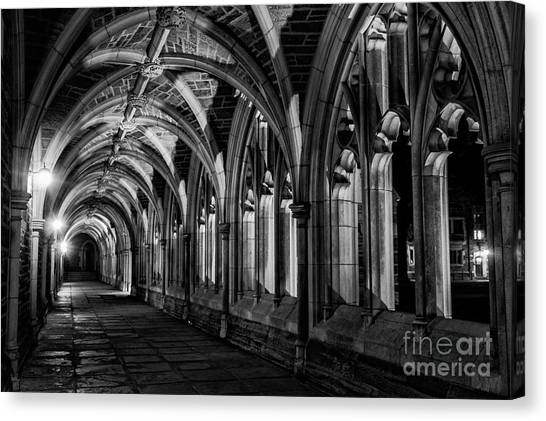 Gothic Arches Canvas Print