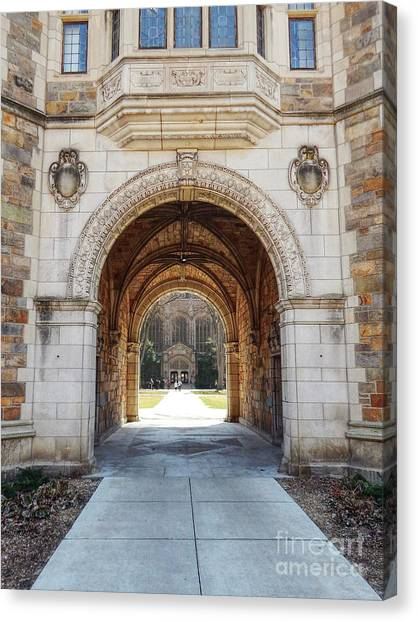 Gothic Archway Photography Canvas Print