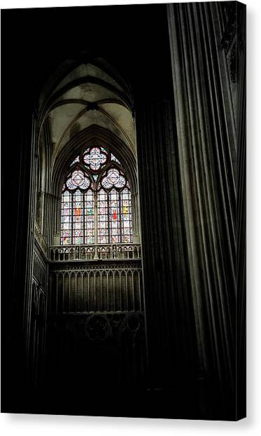 Gothic Cathedral Canvas Print by Chris Brewington Photography LLC