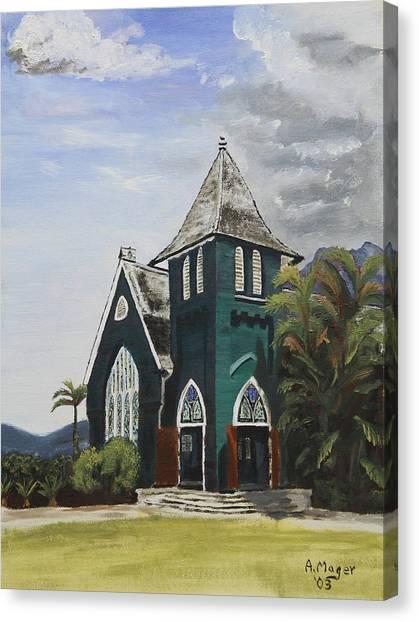 Gothic Green I Canvas Print