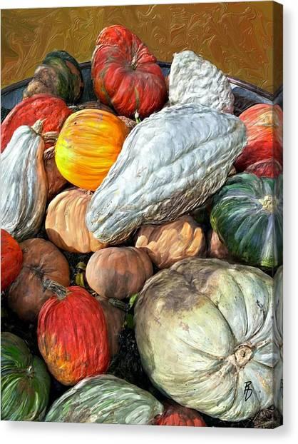 Gourd-jes Canvas Print