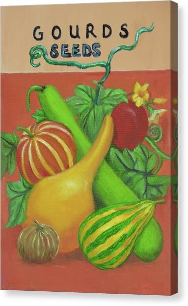 Gourd Orange Canvas Print