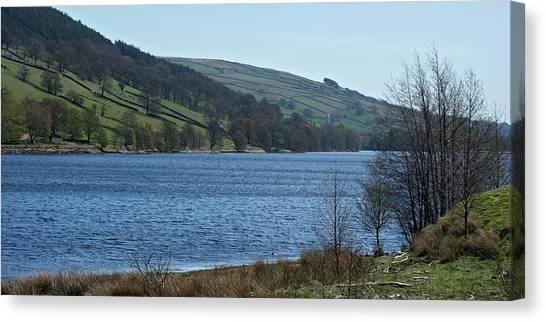 Gouthwaite Reservoir Canvas Print by Steve Watson