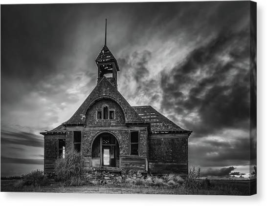 Goven School House Canvas Print