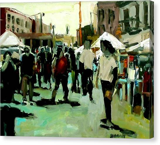 Government Street Canvas Print by Brian Simons