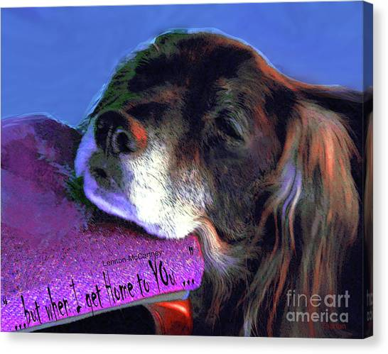 Grace At Home Canvas Print