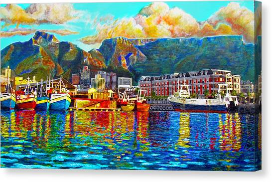 Cape Town Canvas Print - Grace At The Table by Michael Durst